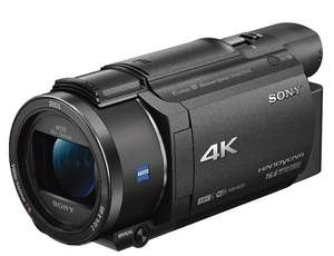 Camescope Sony FDR-AX53 - Zoom optique x20, 4K