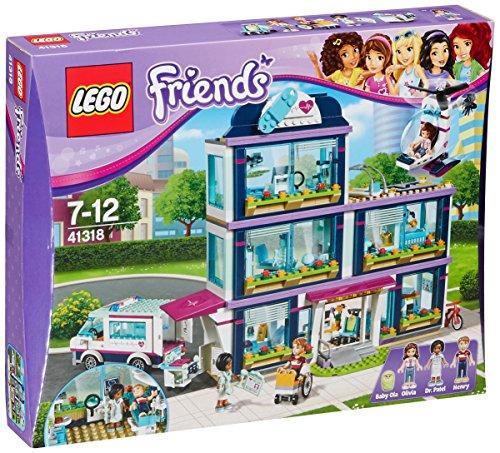 Jeu de construction Lego Friends : L'hôpital d'Heartlake City n°41318