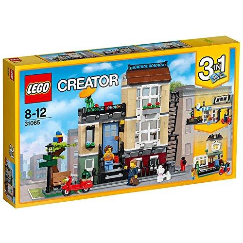 jeu de construction lego creator 31065 la maison de ville - Jeu De Construction De Maison Gratuit