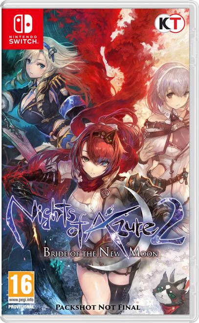 Nights of Azure 2 + DLC Servan VF sur Nintendo Switch
