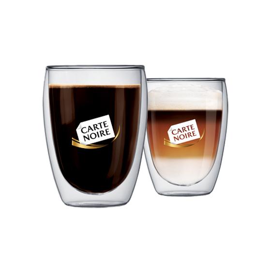 Lot de 10 tasses à café Bodum Carte Noire 35cl (avec 50 étoiles)