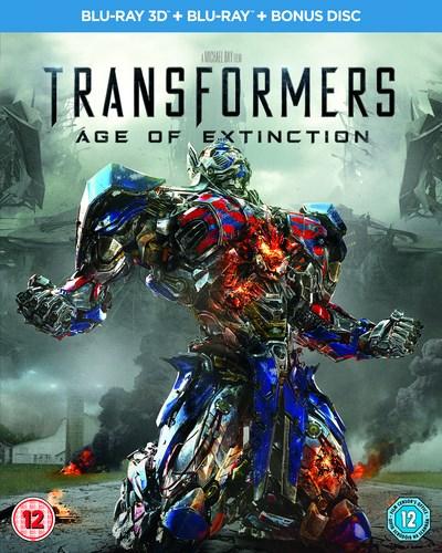 Blu-ray 3D Transformers : L'Âge de l'Extinction VF (+ Blu-ray simple + bonus) 3 Disques