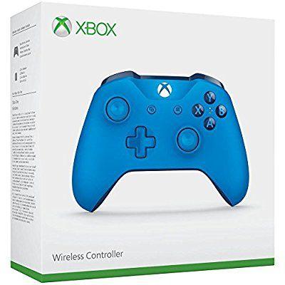 Manette sans fil Microsoft Xbox One - Bleu ou Blanc