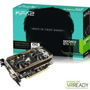Carte graphique KFA2 GeForce GTX 970 OC, 4 Go