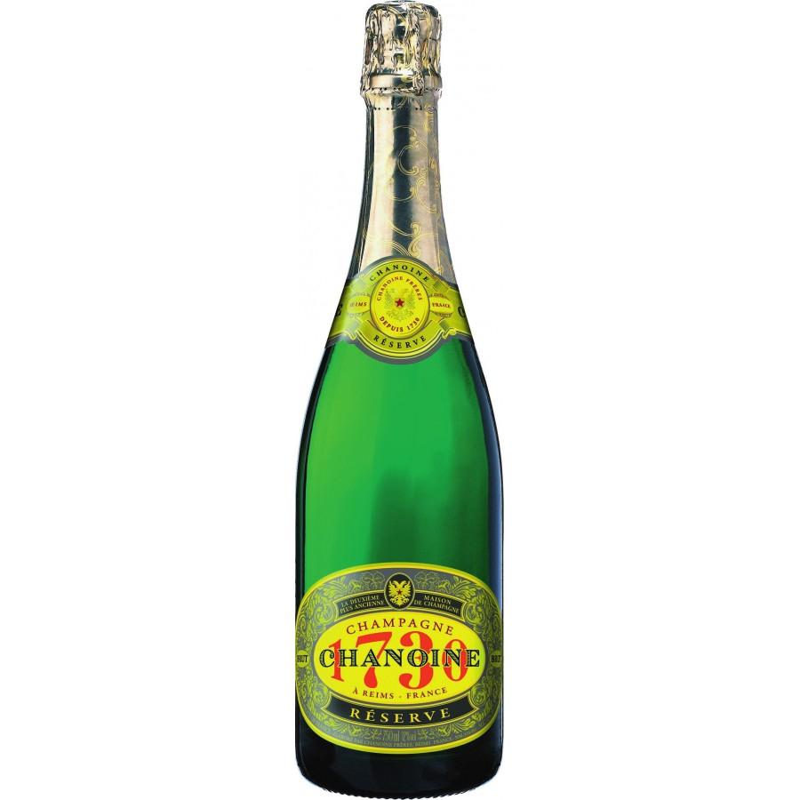 2 bouteilles de champagne Chanoine Réserve 1730 - Brut ou Rosé, 75cl - Carrefour Contact