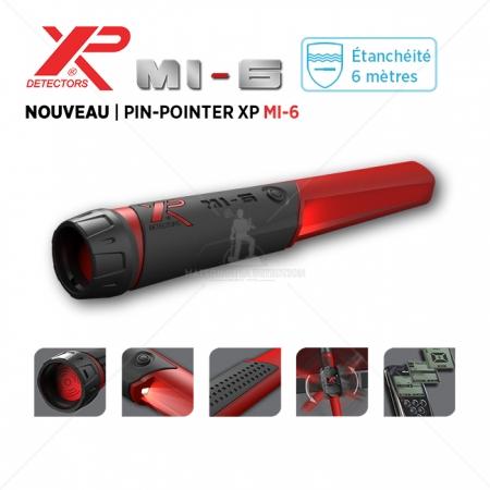 Détecteur d'objets Pinpointer XP MI-6
