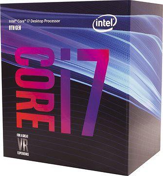 Processeur Intel Core i7-8700 - 3.2 GHz