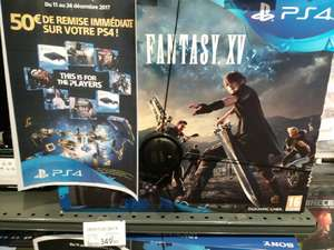 Pack Console PS4 Slim (Noir) - 1 To + Final Fantasy XV - Tavaux (39)