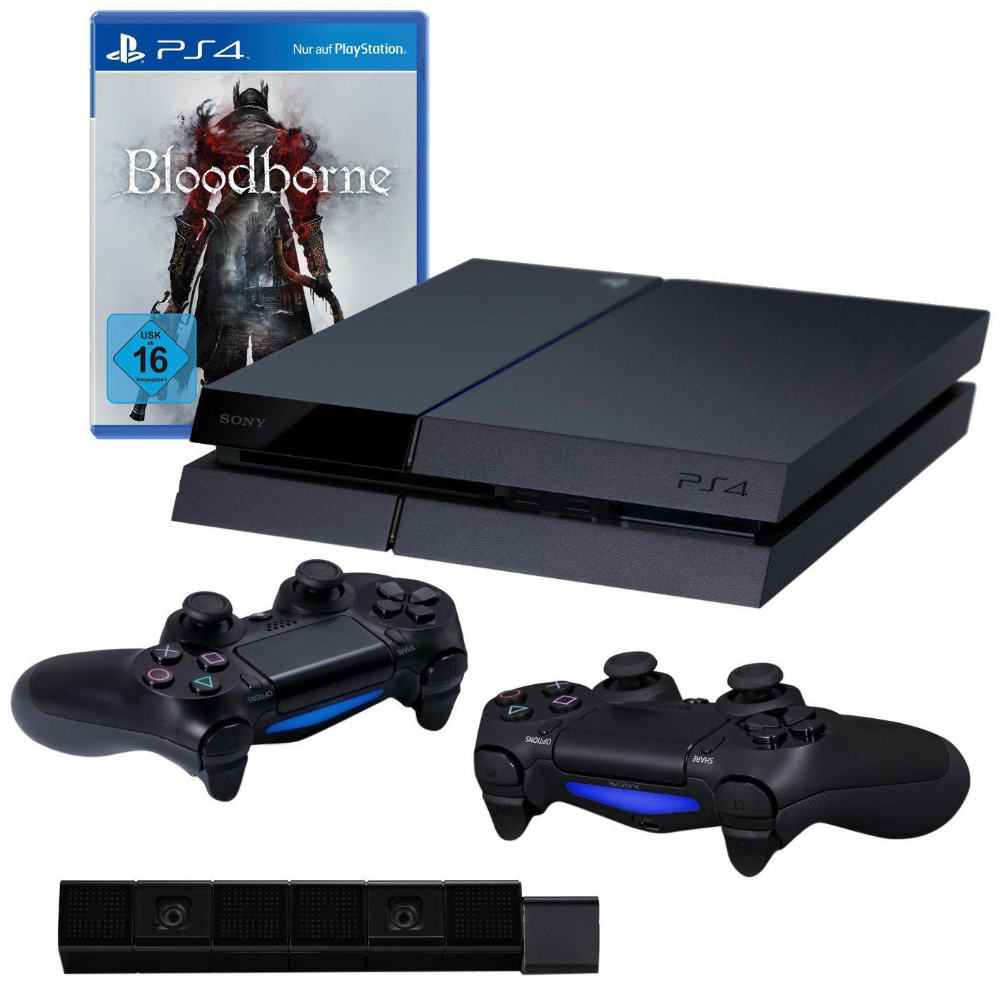 Console PS4 + Bloodborne + 2 manettes  + Caméra
