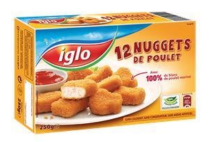 12 Nuggets de Poulet Iglo (bdr + C-Wallet)