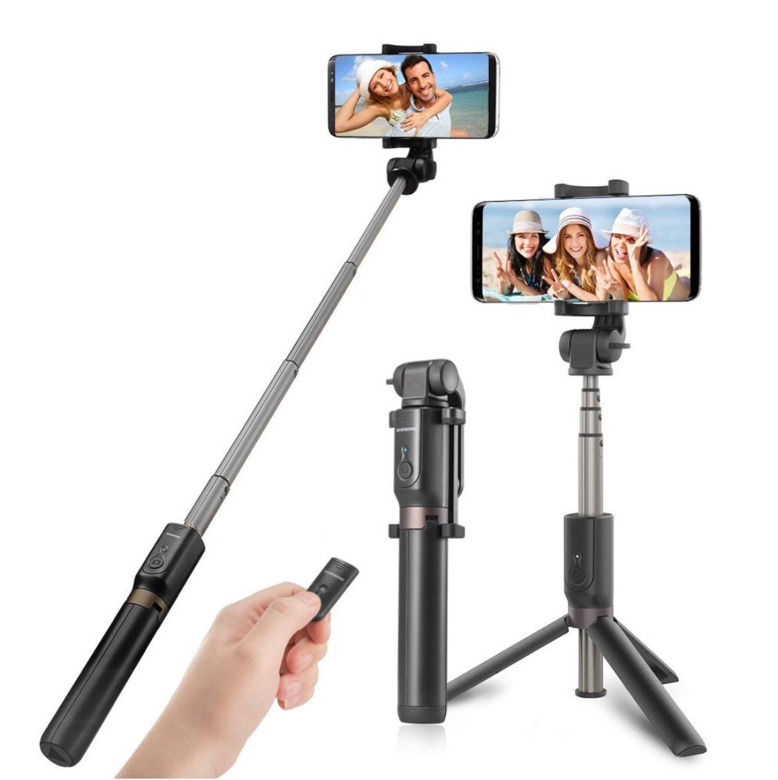 Perche Selfie Trépied RIVERSONG Bluetooth Bâton de Selfie avec Télécommande (vendeur tiers)