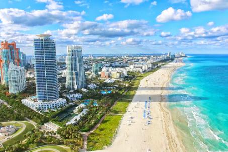 Sélection de vols au départ de Paris CDG en promotion - Ex : Miami du 1er au 9 mars