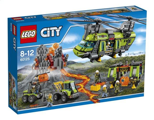 50% de réduction sur une sélection de jouets Lego - Ex : City L'hélicoptère de transport du volcan (60125) chez Dreamland (frontaliers Belgique)
