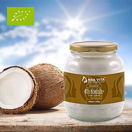 Pot d'huile de noix de coco biologique extra-vierge MeaVita - 1 L (vendeur tiers)