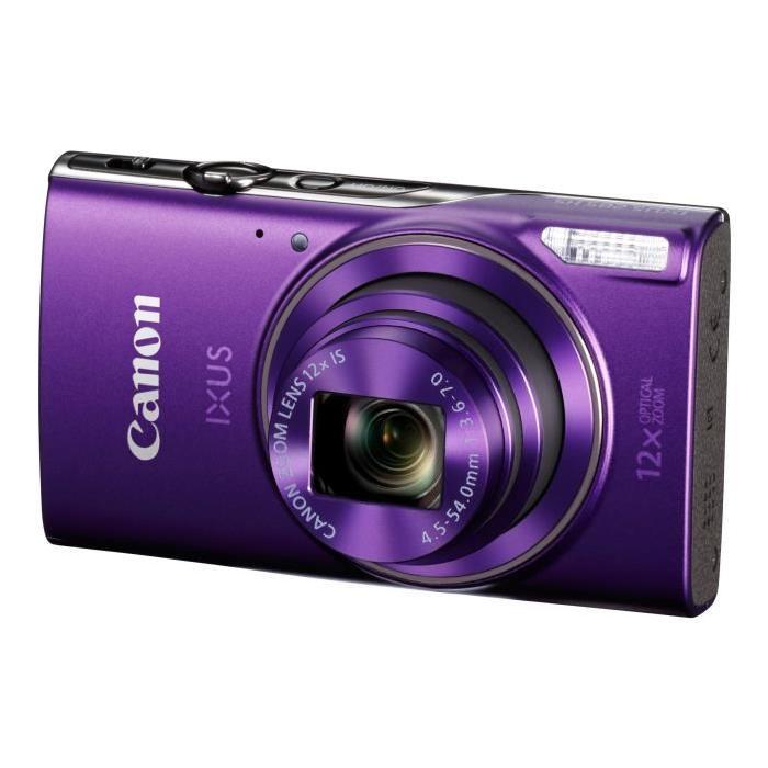 Appareil Photo Numérique Canon IXUS 285 HS - 20 Mpx, Zoom optique 12x UGA, Wi-Fi, NFC