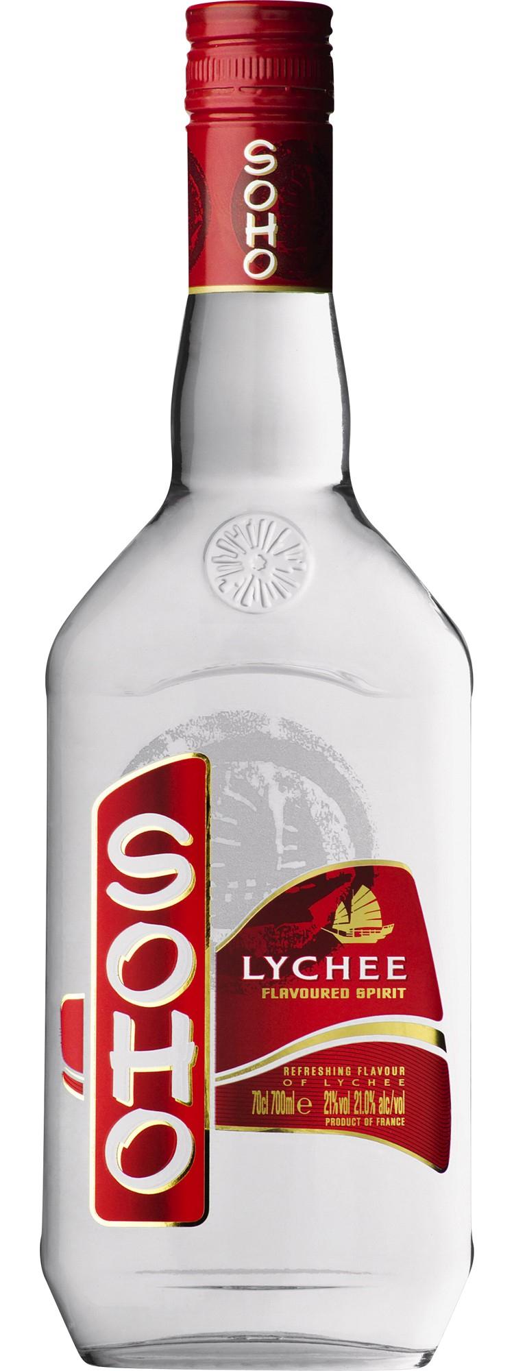Liqueur Soho (Parfums au choix) - 70cl