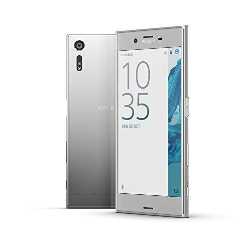 "Smartphone 5.2"" Sony Xperia XZ - full HD, SnapDragon 820, 3 Go de RAM, 32 Go, argent (via ODR de 70€)"