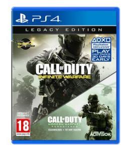 Call Of Duty Infinite Warfare Edition Legacy sur PS4 ou Xbox One (via remise fidélité de 40€)
