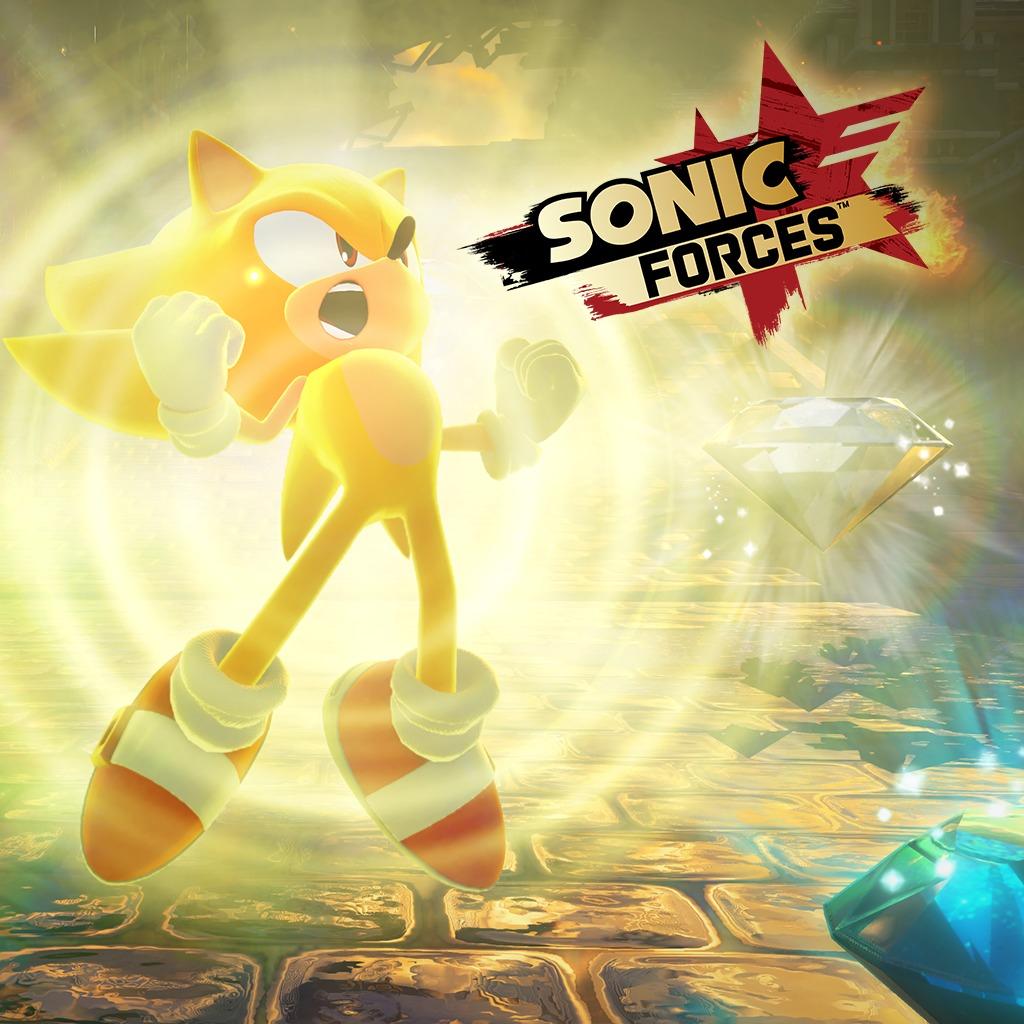 Personnage Sonic Forces : Super Sonic gratuit sur PC, PS4, Switch & Xbox One (dématérialisé)