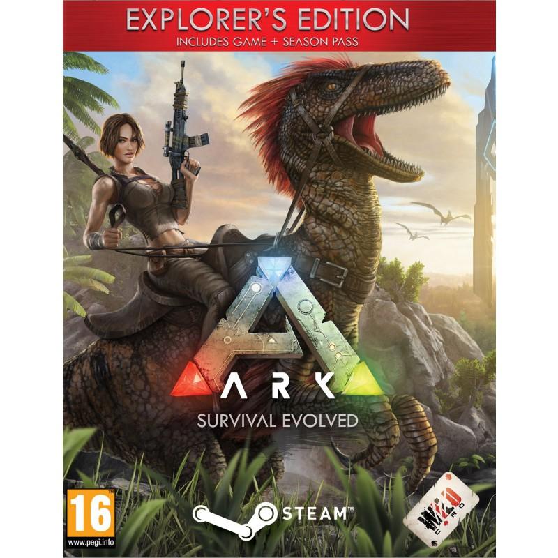 Sélection de jeux vidéo & DLCs ARK en promotion - Ex : Survival Evolved Explorer's Edition sur PC (dématérialisé, Steam)