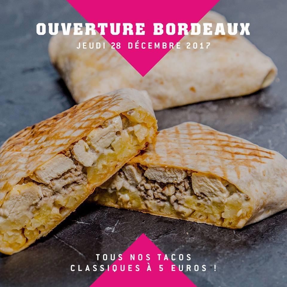 Gamme de tacos Classique - au choix chez New School Tacos Cenon (33)