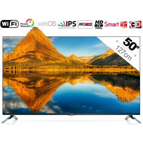 """TV 50"""" LG 50LB671V - Smart TV - 3D"""