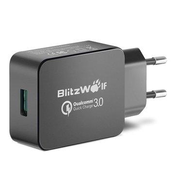 Chargeur USB BlitzWolf BW-S5 Quick Charge 3.0 certifié Qualcomm (Coloris au choix) - 18W
