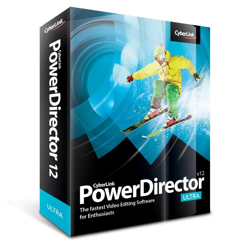 Logiciel de montage vidéo CyberLink PowerDirector 12 LE gratuit (au lieu de 39€)