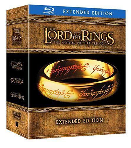 Coffret Blu-ray Le Seigneur des Anneaux (Version Longue)