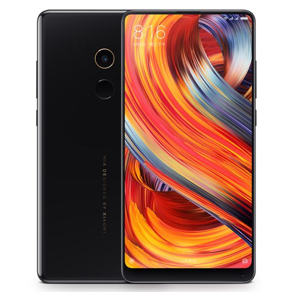 "Smartphone 5.99"" Xiaomi Mi Mix 2 Noir - Full HD, Snapdragon 835, RAM 6 Go, ROM 64 Go (Avec B20 et B28)"