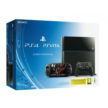 Pack Console PS4 500 Go Noire + Console PS Vita + 1 jeu PS4 offert (Bloodborne, The Order...)