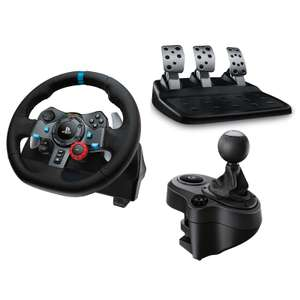 Volant Logitech G29 Driving Force + Driving Force Shifter + Project Cars 2 sur PC