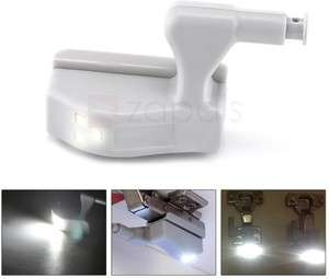 LED Universelle pour Charnières de Placards - Blanc (Frais de livraison inclus)
