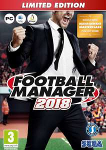 Football Manager 2018 - Limited Edition sur PC