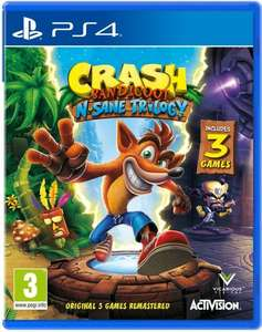 [Prime] Crash Bandicoot N.Sane Trilogy sur PS4