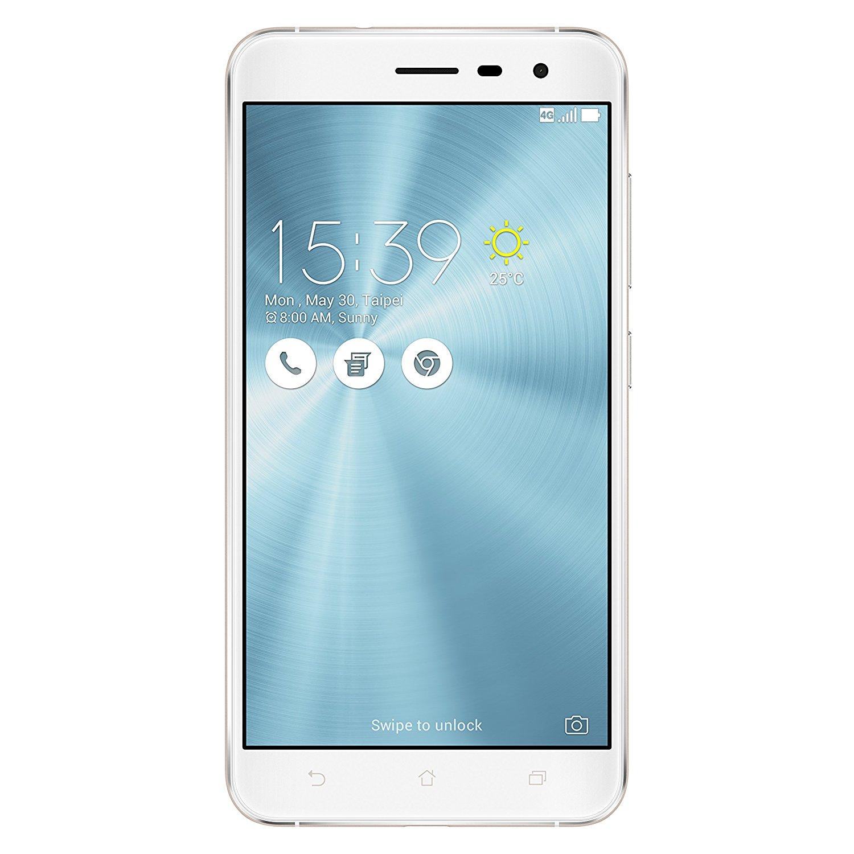 """Smartphone 5.5"""" Asus Zenfone 3 ZE552KL - 64 Go, 4 Go RAM, Blanc"""
