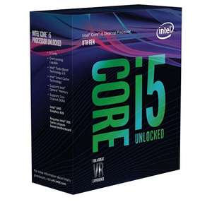 Processeur Intel Core i5-8600k - 3.6 GHz