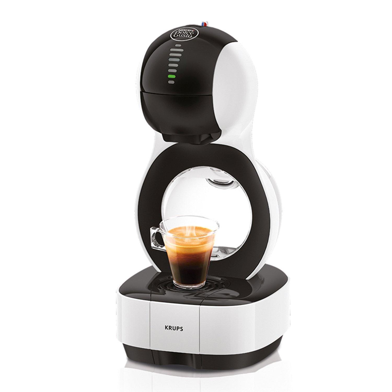 Machine à café automatique Krups Nescafe Dolce Gusto Lumio - Blanc