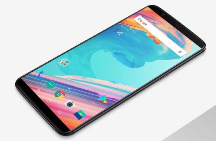 "Smartphone 6.1"" OnePlus 5T - Snapdragon 835, 8 Go RAM, 128 Go ROM"