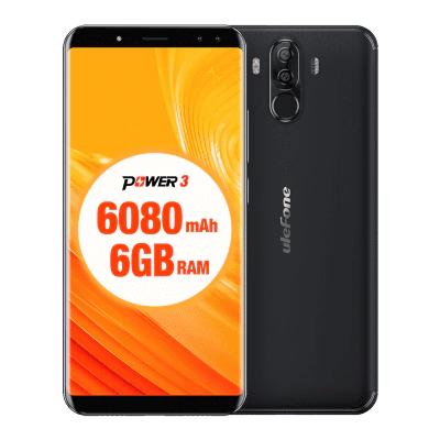 "Smartphone 6"" Ulefone Power 3 - 2160 x 1080, MTK6763, RAM 6 Go, ROM 64 Go (B20)"