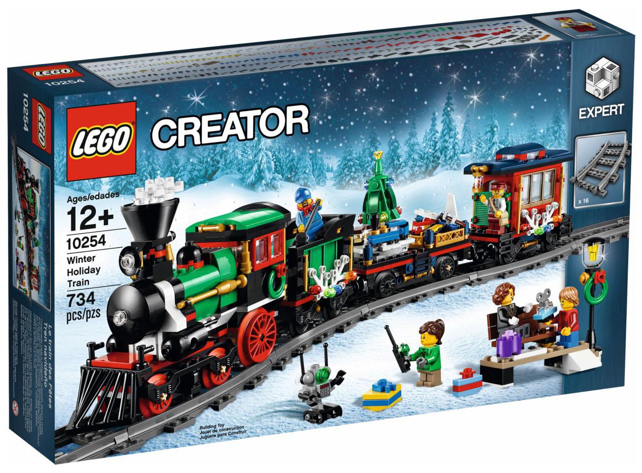 Lego Creator 10254 - Le train de Noël