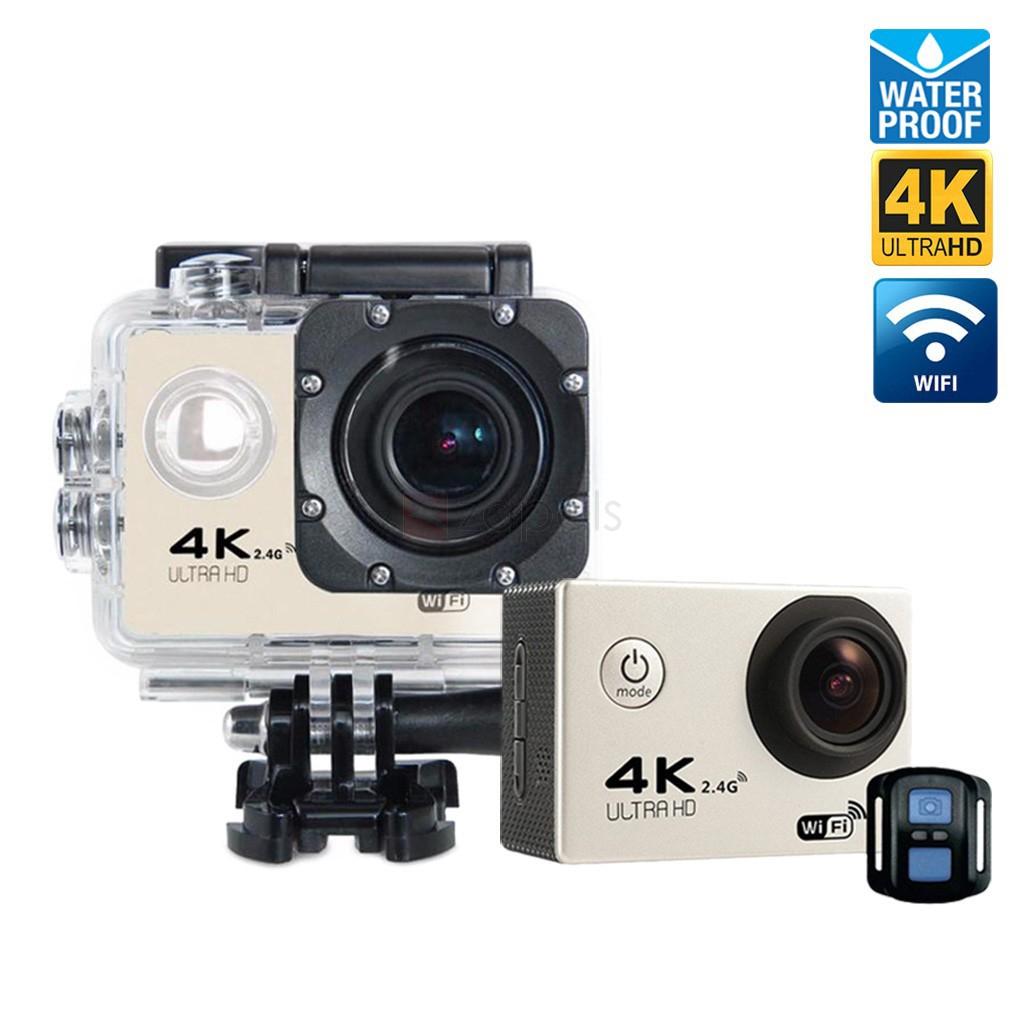 Caméra Sportive Tekcam F60R - 4K, Capteur Sony IMX179 + Accessoires