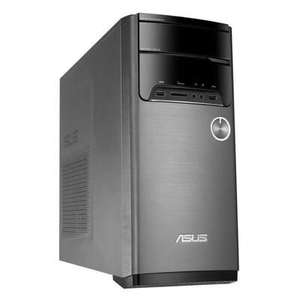 PC de Bureau Gamer Asus M32CD-K-FR154T - i7-7700, RAM 12 Go, HDD 1 To + SSD 128 Go, GTX 1060, Windows 10