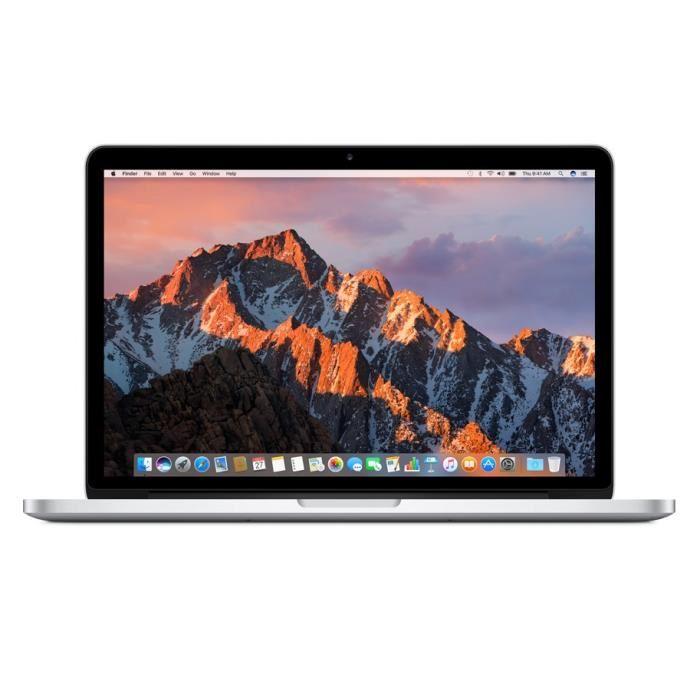 """[Étudiants] PC portable 15.4"""" Apple MacBook Pro 2015 (MJLQ2F/A) - Retina, i7-4770HQ, 16 Go de RAM, 256 Go en SSD"""
