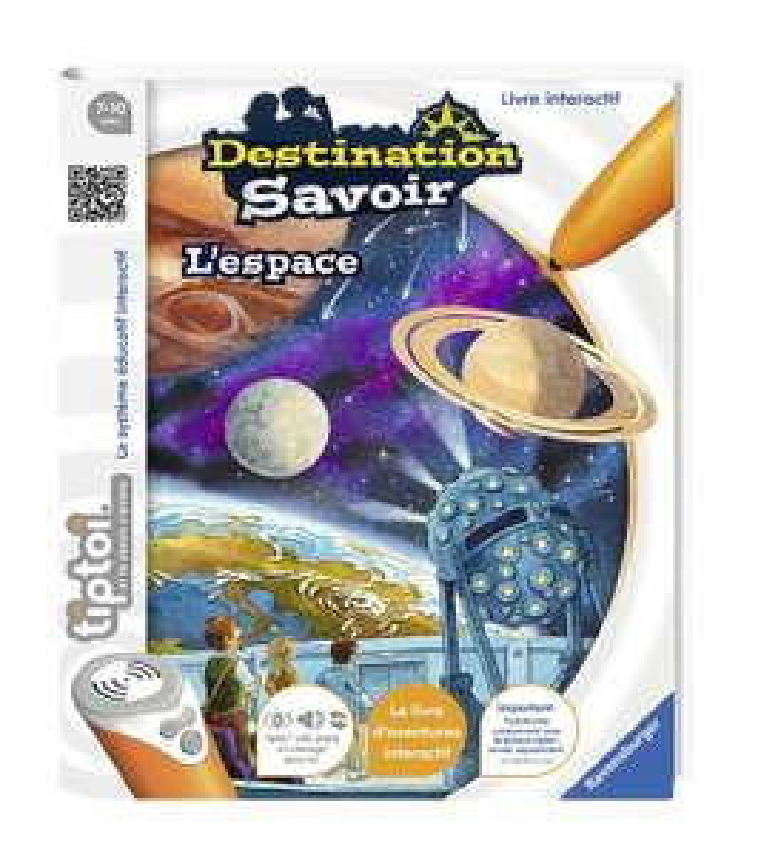 """2ème jeu Ravensburger 100% remboursé (via ODR) - Ex : Livres Tiptoi """"L'espace"""" + """"Les dinosaures"""" (via ODR de 19.99€) - Tous les marchands"""