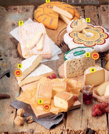 Un bon d'achat de 3€ offert pour l'achat de 3 parts de fromage à la coupe