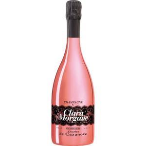 Bouteille de Champagne de Cazanove By Clara Morgane - Rosé (75 cl)
