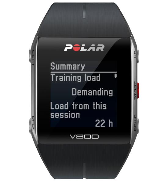 Montre triathlon Cardiofréquencemètre/GPS Polar v800 (sans ceinture cardiaque)