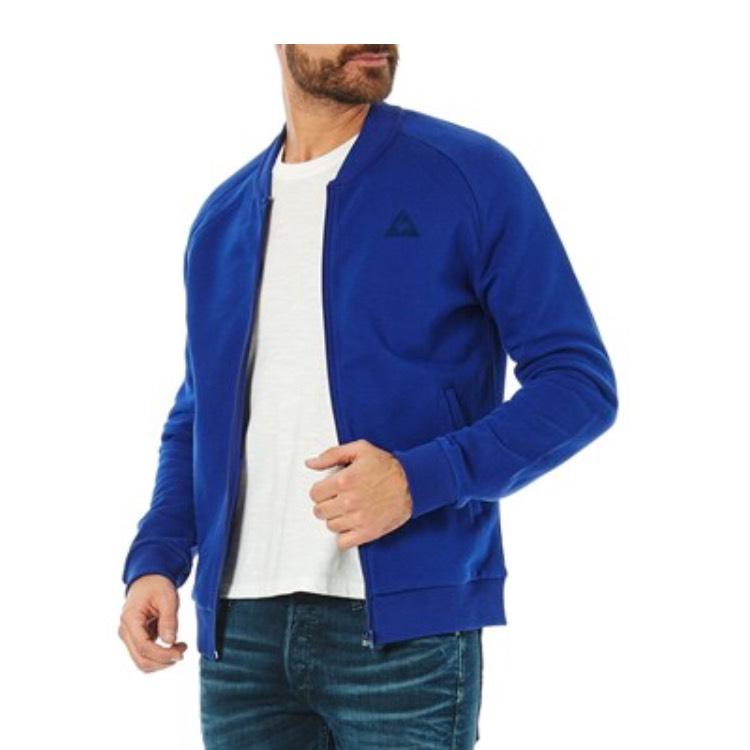 Sweat-Shirt Le Coq Sportif Classique Bleu pour Hommes - Tailles au choix (+ 1.5€ en tickets E.Leclerc)