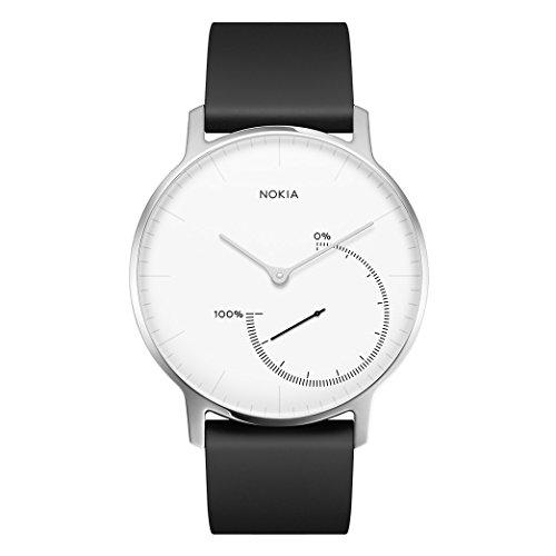 Montre connectée de suivi d'activité et de sommeil Nokia Steel - Noir ou Blanc